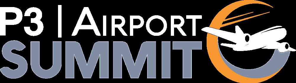 P3 Airport Summit Logo (Inverted)