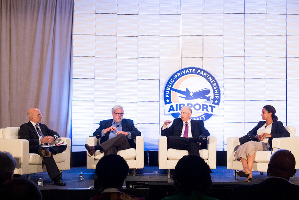 P3 Airport panel on stage